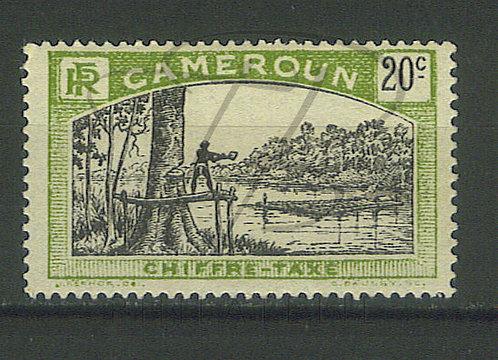 Cameroun taxe n°6 , *