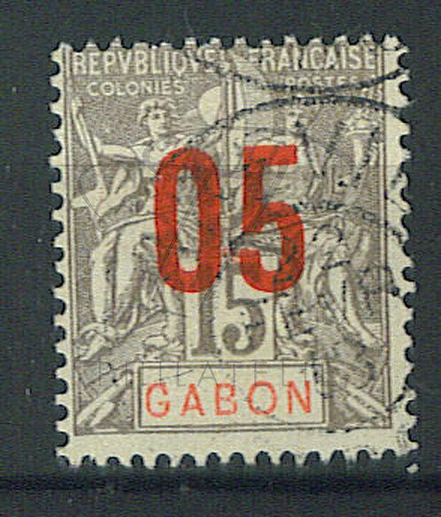 "Gabon n°68 , cachet ""LIBREVILLE"""