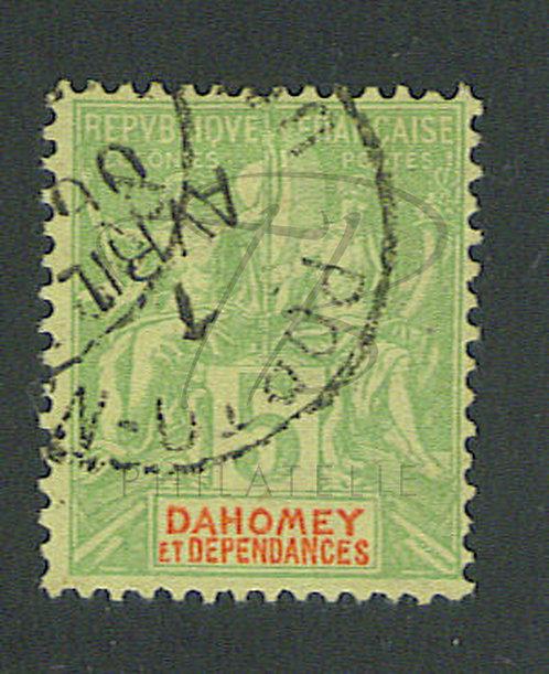 "Dahomey n°9 , cachet ""PORTO-NOVO"""