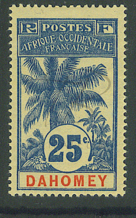 Dahomey n°24 , * (a)