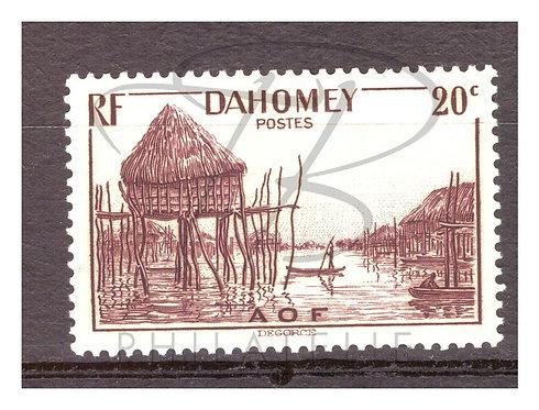 Dahomey n°125 , *