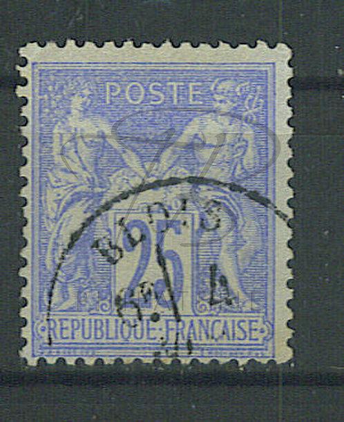 """France n°78, cachet """"BLOIS"""" (a)"""