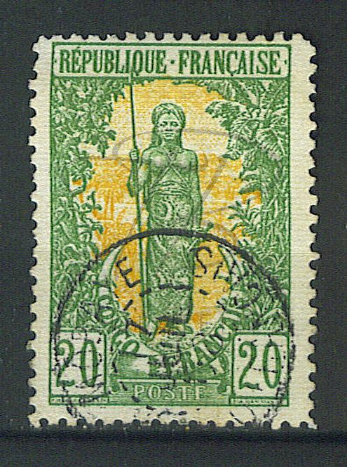 """Congo n°33 , cachet """"MOBAYE"""""""