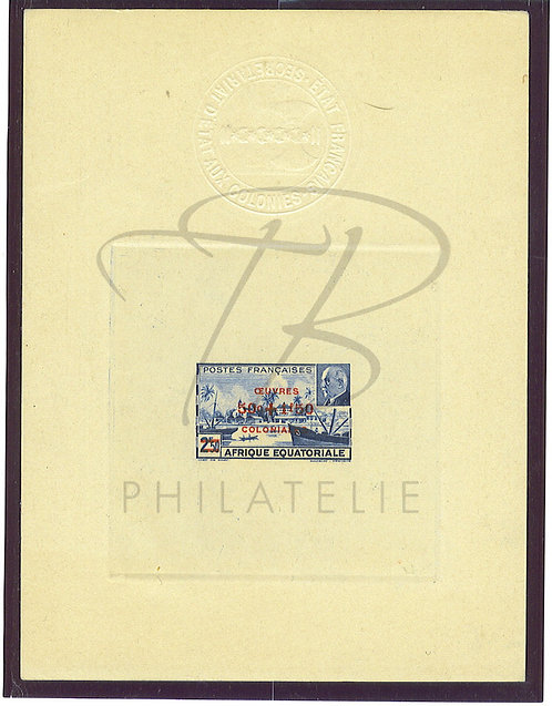 A.E.F. Epreuve n°195