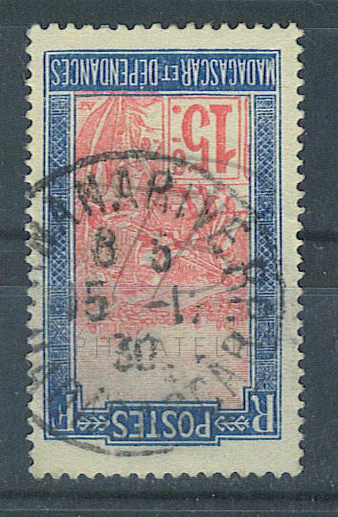 """Madagascar n°157 , cachet """"TANANARIVE RP"""""""