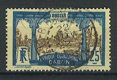 "Gabon n°56 , cachet ""LIBREVILLE"""