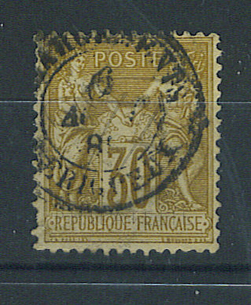 "France n°80 , cachet ""CHARGEMENTS PERRIGUEUX"""