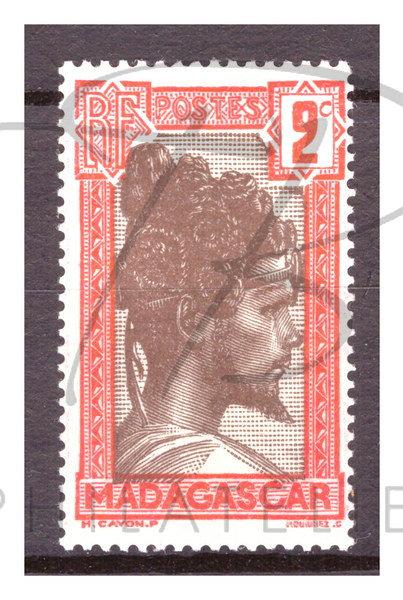 Madagascar n°162 , *