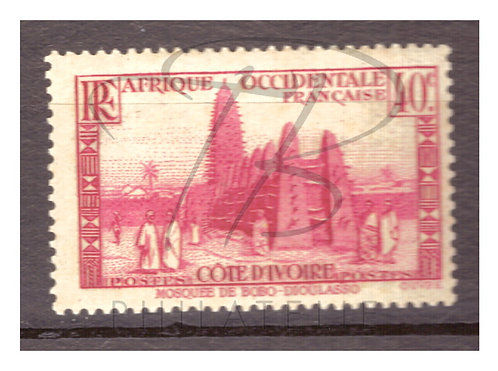 Côte d'Ivoire n°118 , *