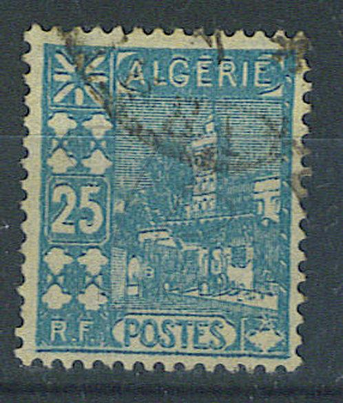 Algérie n°78 , double impression