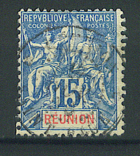 "Réunion n°37 , cachet ""SAINT-PAUL"""