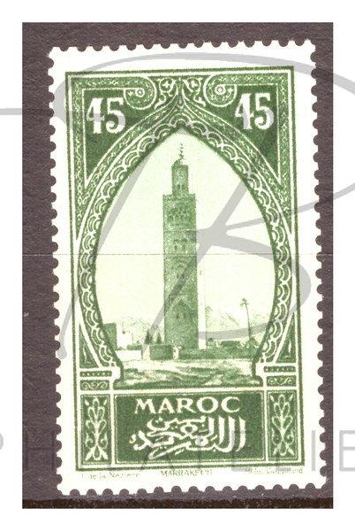 Maroc n°111 , *