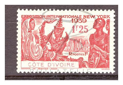 Côte d'Ivoire n°144 , *
