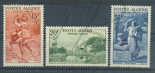 Algérie n°346-348 , *