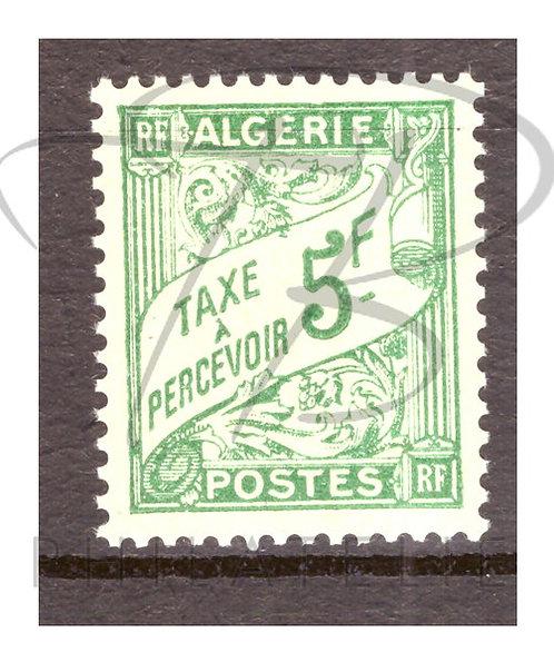 Algérie taxe n°32 , *