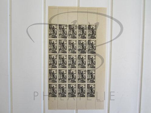 Dahomey n°124 , en demie-feuille , **