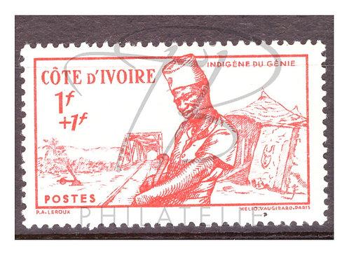 Côte d'Ivoire n°162 , *