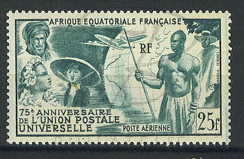 A.E.F. Poste aérienne n°54 , ** (a)