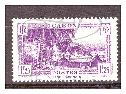 Gabon n°140A , *