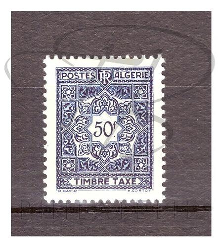 Algérie taxe n°47 , **