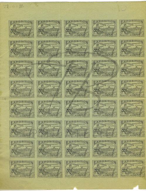 Exposition internationale et coloniale Rochefort