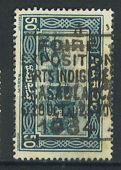 """Maroc n°139 , cachet """"FOIRE 1934"""""""