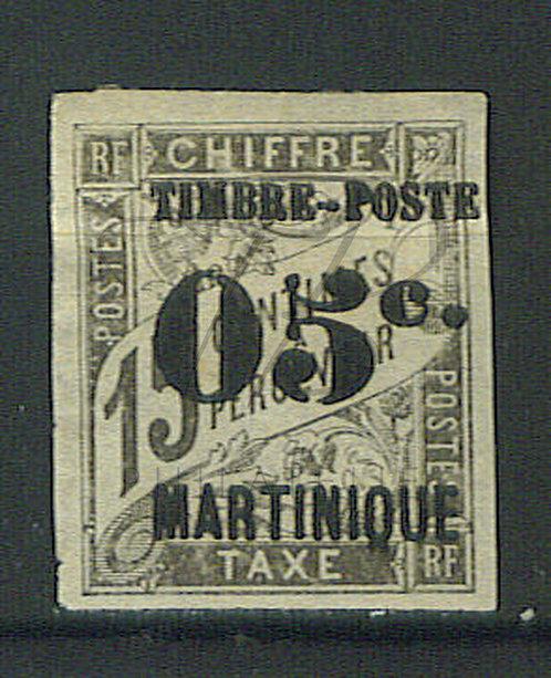 """Martinique n°20 , cassure dans le """"5"""" , (*)"""