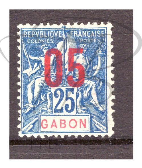 Gabon n°70 ,*