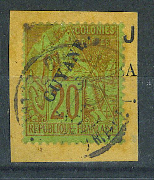 Guyane n°22 sur fragment
