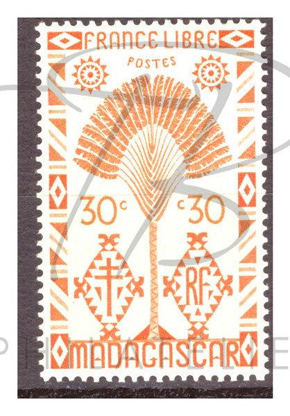 Madagascar n°268 , *