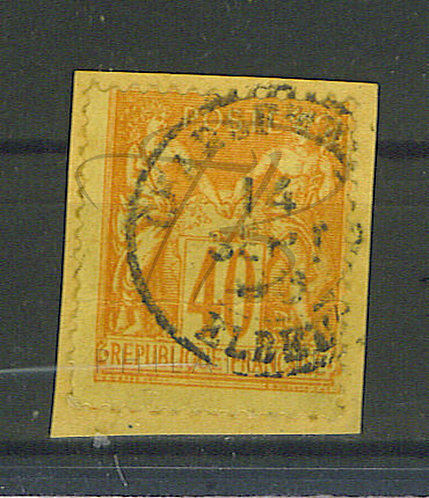 "France n°94 , cachet ""CHARGEMENTS ELBEUF"" (b)"