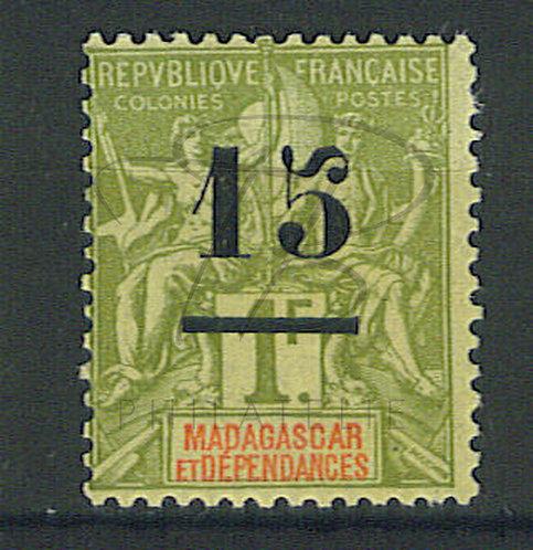 Madagascar n°50 , *