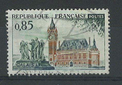 France n°1316 , maculage