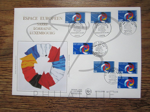 FDC émission commune France-Luxembourg 1997