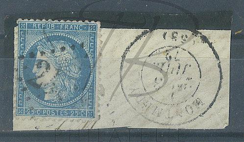 France n°60A, G.C. 2489 : Montmédy