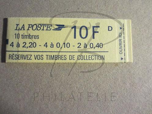 Carnet mixte n°1501