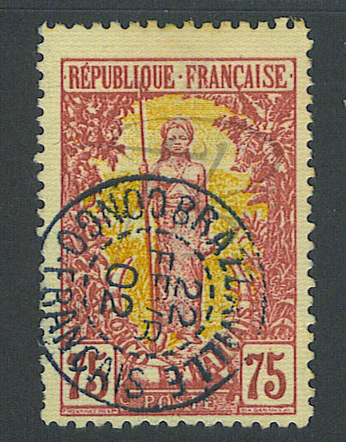 "Congo n°38 , cachet ""BRAZZAVILLE"""