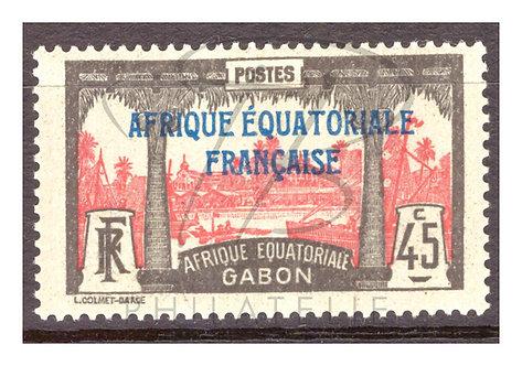 Gabon n°101 , *