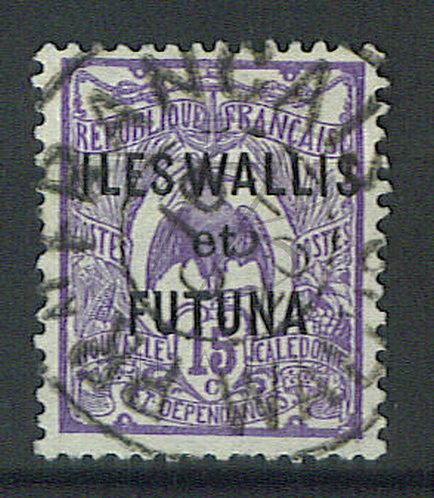 "Wallis et Futuna n°6 , ""PRAT FRANCAIS-WALLIS"""