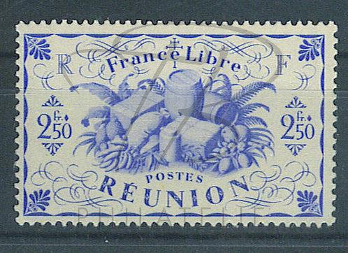 Réunion n°242a , sans teinte de fond , ** (c)