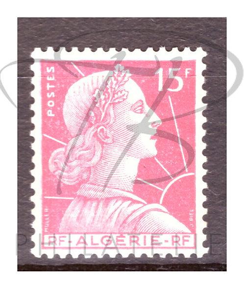 Algérie n°329 , *