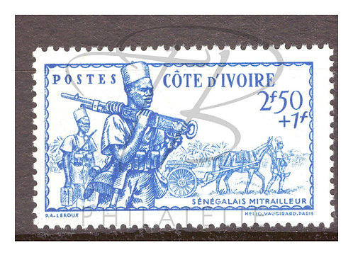 Côte d'Ivoire n°165 , *