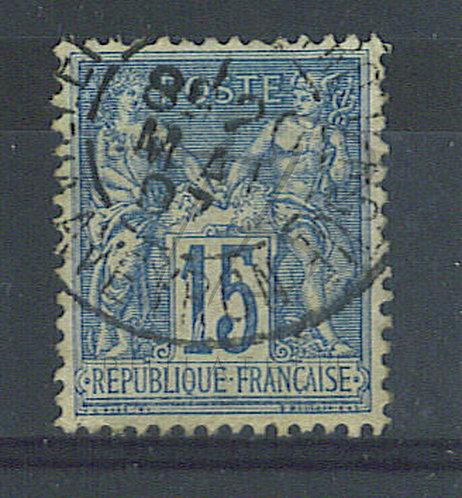 """France n°101 , pétouille dans le """"1"""""""