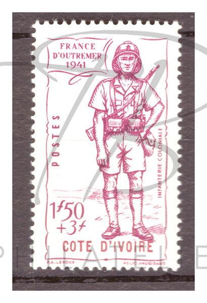 Côte d'Ivoire n°164 , *
