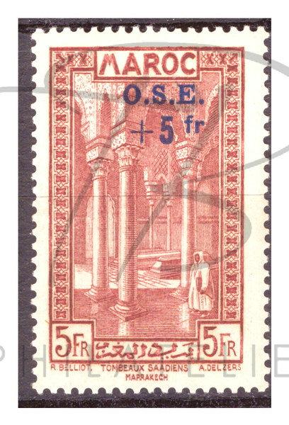 Maroc n°160 , *
