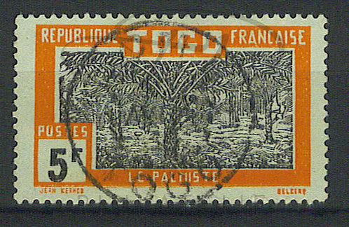 """Togo n°143 , cachet """"LOME"""" (a)"""