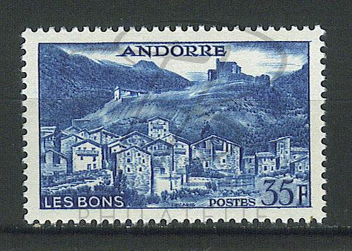 Andorre n°150A , **