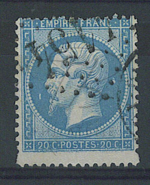 France n°22 + grand, variété, G.C. : 4154