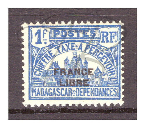 Madagascar taxe n°25 , *