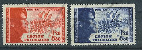 France n°565+566 , **